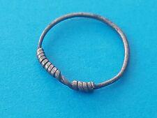 Very rare & beautiful Viking ladies silver ring. Please read description. L411
