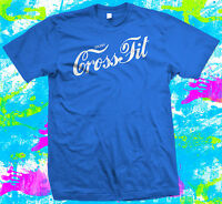 Enjoy Crossfit - T Shirt - New - 5 colour options - Small to 3XL - Great Gift