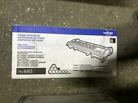 NEW GENUINE Brother TN660 High-Yield Toner Cartridge  NO BOX