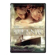 2 Disc Set - Titanic DVD DVD Leonardo DiCaprio Includes ALTERNATIVE ENDING