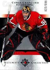 2005-06 UD Ultimate Collection #185 Corey Crawford