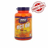 150 MCT Oil Coconut Oil Softgels Tablets Fatty Acid Keto Ketogenic Diet 1000mg
