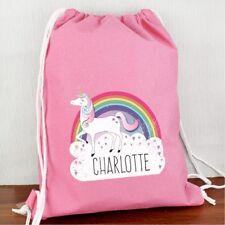 Personalised Unicorn Swim & PE Bag