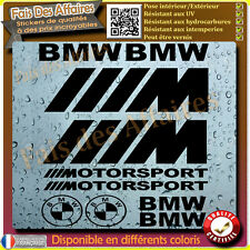 10 stickers autocollant BMW MotorSport M3 M5 x3 m6 M4 serie