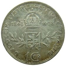 (C18) - Österreich Austria - 1 Krone Corona 1908 - Reign - XF-UNC - KM# 2808