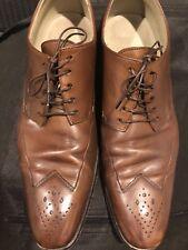 Boss Hugo Boss Brown  Dress Shoe Oxford Brown Size 9 ! ERNEMAT