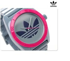 ADIDAS SANTIAGO MEN'S 2 TONES COLOR LOGO RED WATCH ADH2869