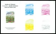 FRANCE EPREUVE DE LUXE COULEURS LUXUSBLOCK JARDINS DE VILLANDRY GÄRTEN z1650