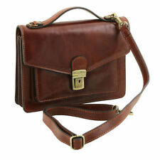 Women's No Pattern Clasp Leather Messenger & Cross Body Handbags