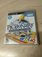Pictionary Ultimate Edition PlayStation 3 PS3 THQ