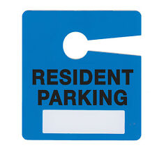 Milcoast Resident Parking Pass Hang Tags for Apartment Condo 10 Pack Plastic