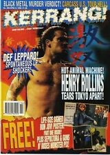 Henry Rollins on Kerrang Cover 1994     Kiss     Bon Jovi
