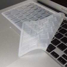 CLEAR Silicone Keyboard Cover Skin for Macbook Air 13""