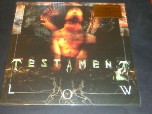 TESTAMENT LP LOW NUMBERED ORANGE/YELLOW COLOURED VINYL - NEW