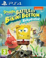 Spongebob SquarePants Battle for Bikini Bottom Rehydrated PS4 Game