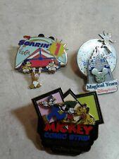 Disney pins 35 Magical Years Walt Disney World, Mickey Comic Strip 75th.