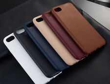 """Ultra Thin TPU Leather Soft Phone Case Cover for iPhone 7 4.7"""" 7 Plus 5.5"""" SE 5s"""