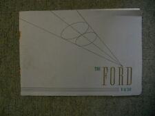 "The Ford V-8 ""30"" [Brochure]"