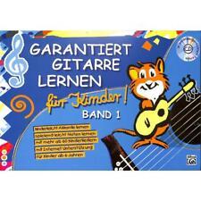 Roschauer: Garantiert Gitarre lernen für Kinder 1 + CD! Gitarrenschule Lehrbuch