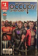 Occupy Avengers #1 NM- 1st Print Free UK P&P Marvel Comics 2016