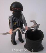 Playmobil ladrón con máscara, herramientas y saco nuevos temas Extra Figure policía/ciudad