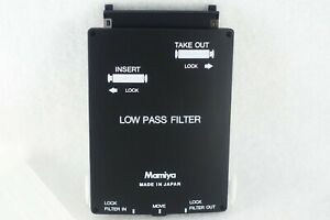 【Unused】Mamiya ZD Low Pass Filter YC301 for ZD Digital Camera From JAPAN
