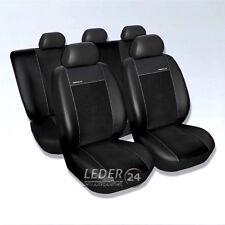 VW Tiguan  BJ 2007- Original Maß Sitzbezüge Sitzbezug  Kunstleder schwarz