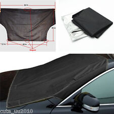 Front Windshield Window Snow Ice Frost Protector Tarp Flap Cover For Car SUV New