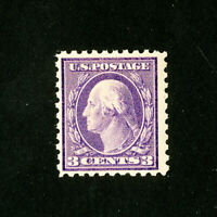 US Stamps # 426 F-VF Pink Back Variety OG NH Scott Value $150.00