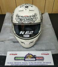 Casco Moto Integrale Nolan N62 N ANGEL Grafica 56 Colore Bianco Opaco L 59 60 cm