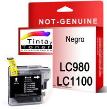 Tinta compatible NON-OEM para Brother LC1100 LC980 MFC-5890CN MFC-6490CW BK