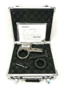 """Enerpac W2206X Hydraulic Bolting Hex Cassette 2-3/8"""" & W2206R114 1 7/8"""" Reducer"""