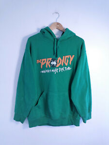 THE PRODIGY | Men's Original Retro Invaders Must Die Band 2009 Tour Hoodie | L