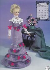 Miss February 1996 Annie's Edwardian Lady Crochet Doll Clothes Pattern Book 7902