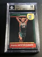GIANNIS ANTETOKOUNMPO 2013 PANINI NBA CHINA #147 ROOKIE RC BGS 10 PRISTINE