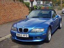 BMW Z3 Roadster 3.0 Individual 2002 52 plate