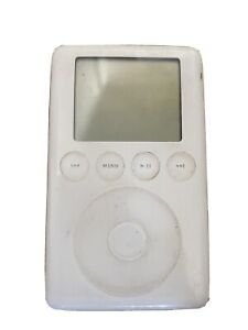 Apple iPod Classic 3rd Generation with wheel click very rare - Not Sure If Works