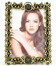 Hand Made Tereza Picture Frame by Ciel Collectables with Swarovski Crystals.