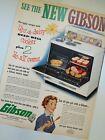 Vintage 1950's NEW GIBSON ELECTRIC RANGE OVEN Magazine Print Ad  photo