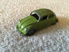 Dinky 181 Volkswagen Beetle verde coche