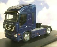 EXCELLENT IXO DIECAST 1/43 2012 IVECO STRALIS 480 TRUCK CAB IN BLUE TR031