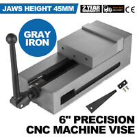6'' Precision Bench CNC Clamping Vise Fixed Jaw 150mm Jaw Width Horizontal