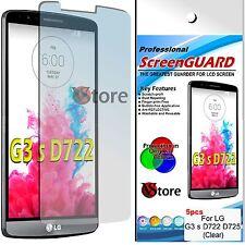 5 Pellicola Per LG G3 S Mini D722 D725 G3S Proteggi Schermo Display Pellicole