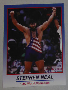 Stephen Neal 2008 ProImage Heroes of Wrestling Card Patriots Football Super Bowl