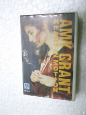 AMY GRANT  HEART IN  MOTION  CLAMSHELL  RARE orig CASSETTE TAPE INDIA indian