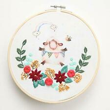 Maydear Stamped Embroidery Needlework Kit Cross Stitch kit for Beginners