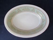 Wedgwood Bone China COLUMBIA SAGE GREEN Oval Serving Bowl