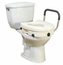 Drive 2 in 1 Raised Toilet Seat Locking Elevated Toilet Seat