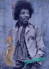 Jimi Hendrix Music Wall Art Poster Print