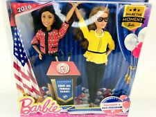 Barbie for President and Vice President Dolls Female Ticket 2016 Blond Black